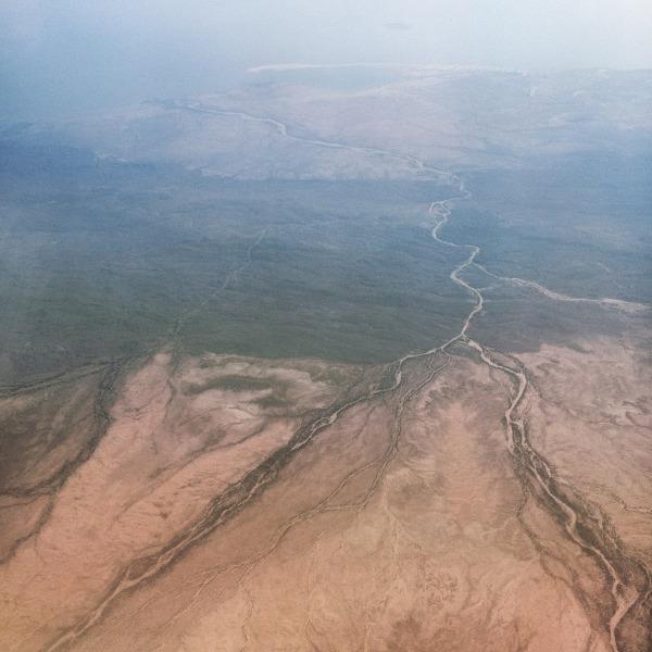 Lake Turkana (Kenya) in the distance