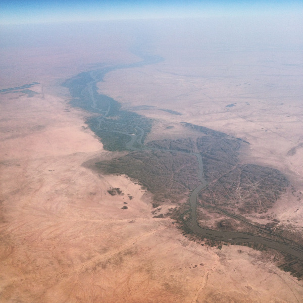 Nile, just North of Khartoum