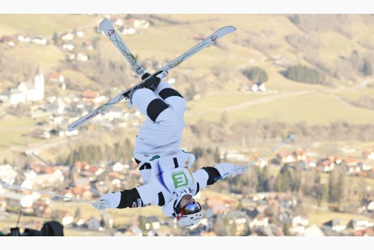 DARKO BANDIC / THE ASSOCIATED PRESS Canadian freestyle skier Mikael Kingsbury is dominating this year's World Cup circuit. He has the overall title already wrapped up with a third of the season still to go.
