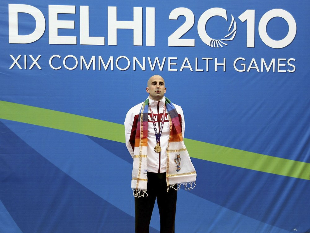 Canada's Benoit Huot was a gold medalist at the Delhi 2010 Commonwealth Games.Daniel Berehulak/Getty Images