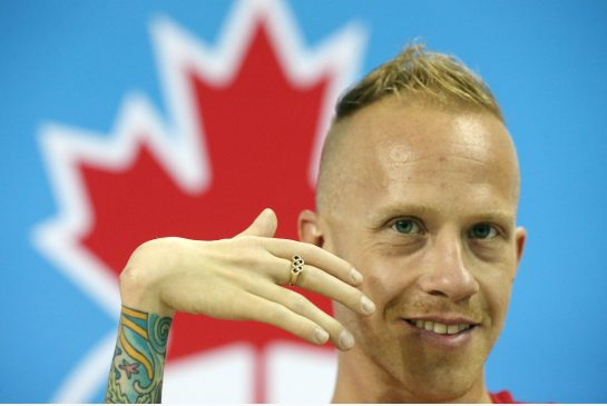 STEVE RUSSELL / TORONTO STAR The pull of the ParaPan Am Games at home was enough to bring swimmer AdamPurdy out of retirement.