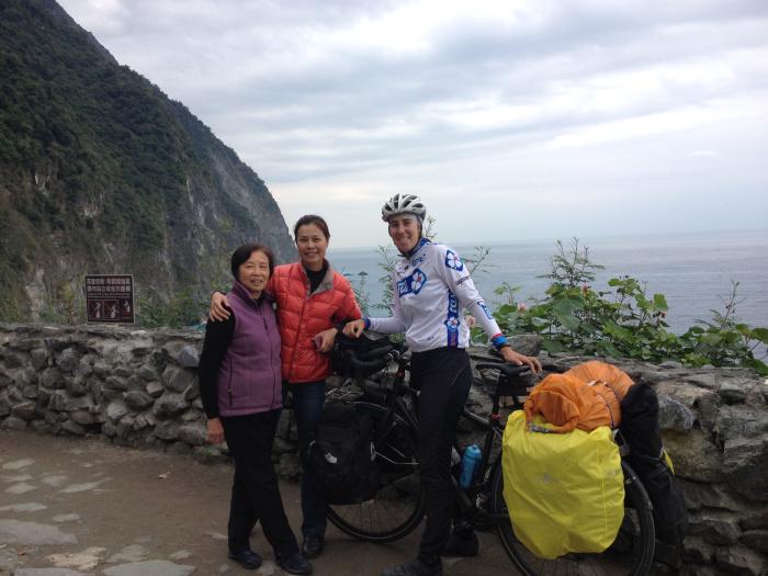 Les Taïwanais adorent les cyclistes