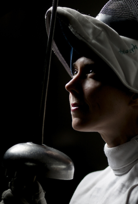 She was a competing member of the varsity fencing and cross-country teams this season, and worked out as an invited guest of the swimming team.                                            Tim Fraser for National Post