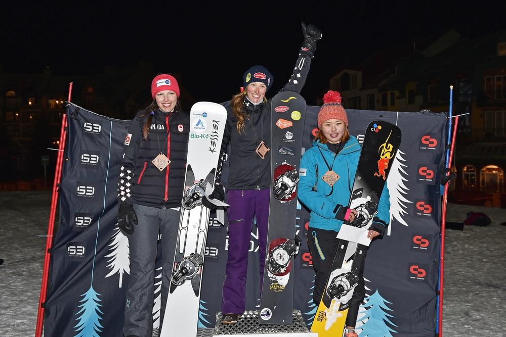 Victoire au parallèle slalom du championnat canadien/finale Noram à Tremblant!