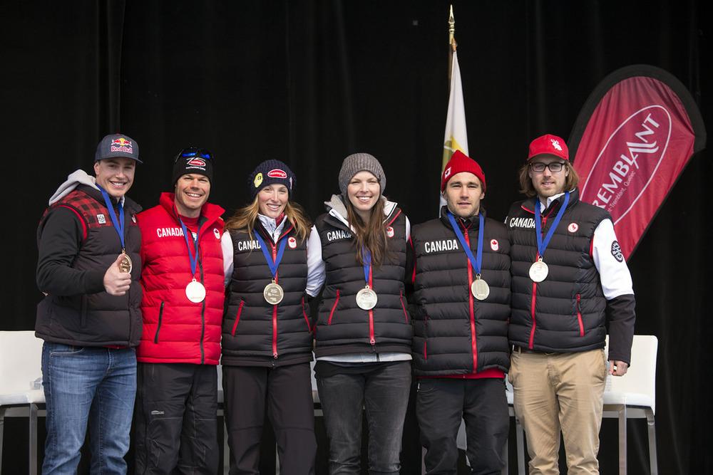 Célébration des athlètes olympiques de Mont-Tremblant