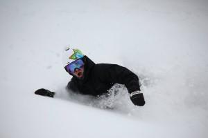 Plus belle journée de snowboard à vie au Japon