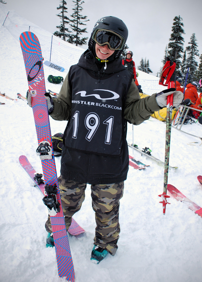 Happy to be Whistler for the AFP Finals :)