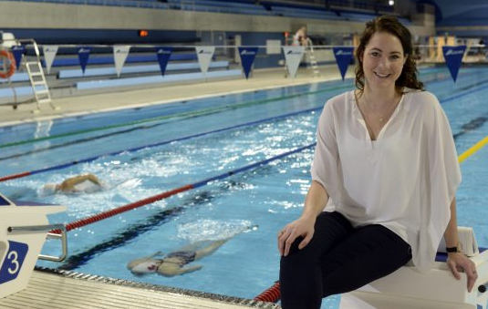 AARON HARRIS / TORONTO STAR Former Canadian Olympic swimmer Julia Wilkinson is the co-ordinator of athlete engagement for this summer's Pan Am and Parapan Am Games.
