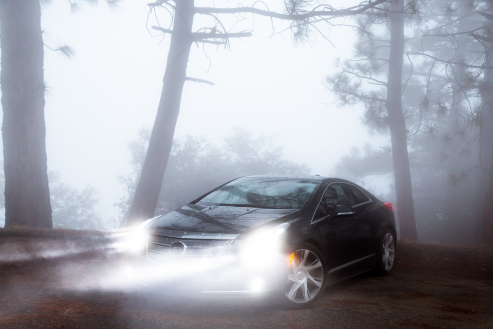 Cadillac ELR, California