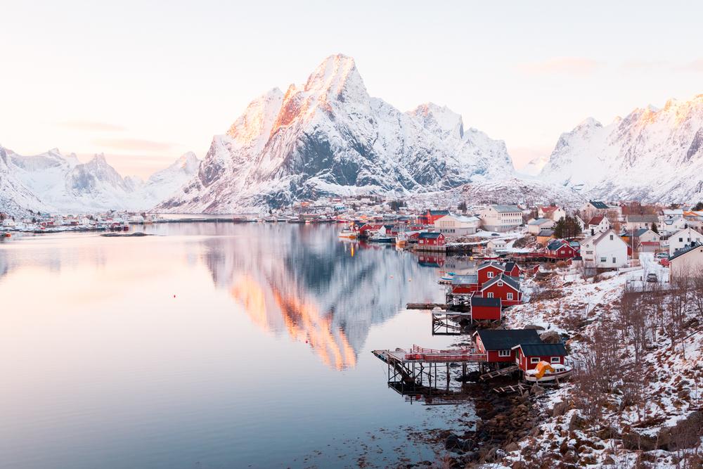 Sunset Reine, Norway