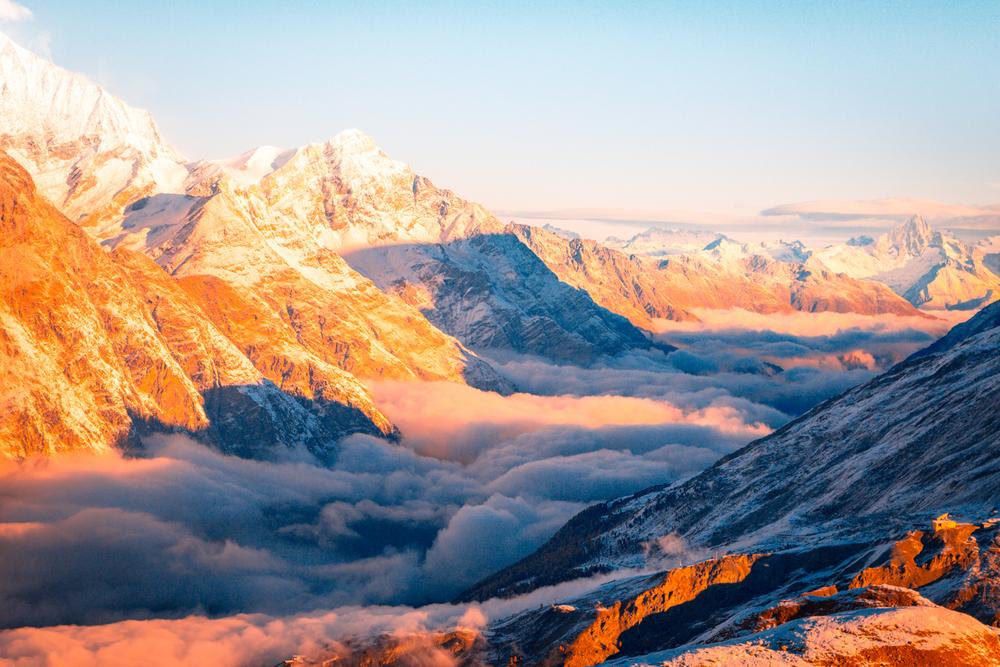 The Alps of Switzerland