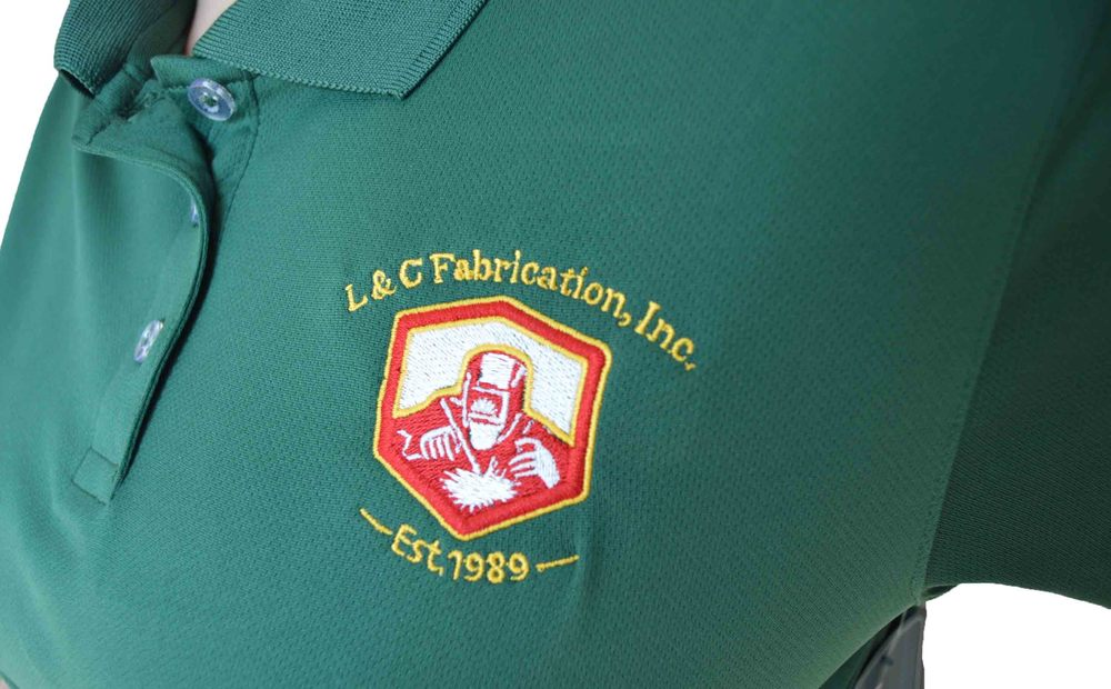L&C Fabrication Embroidered Polo