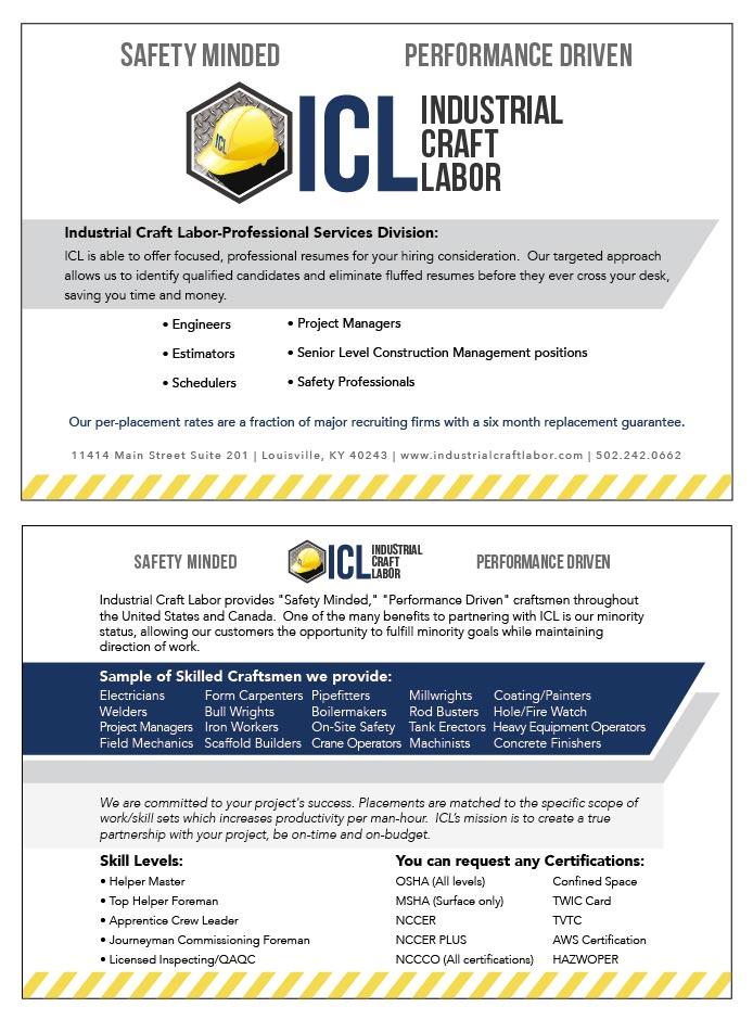 Flyer: Industrial Craft Labor