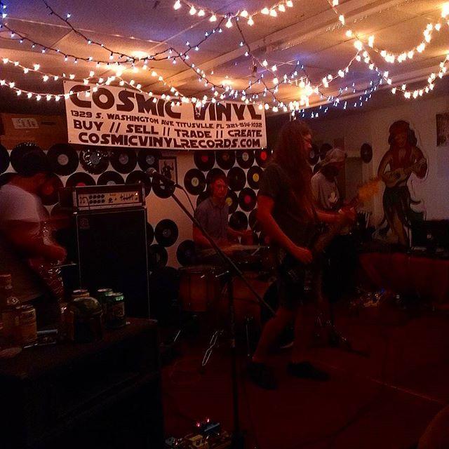 Evil Virgins live at #cosmicvinyl  #diyshows #Florida  #Titusville #evil