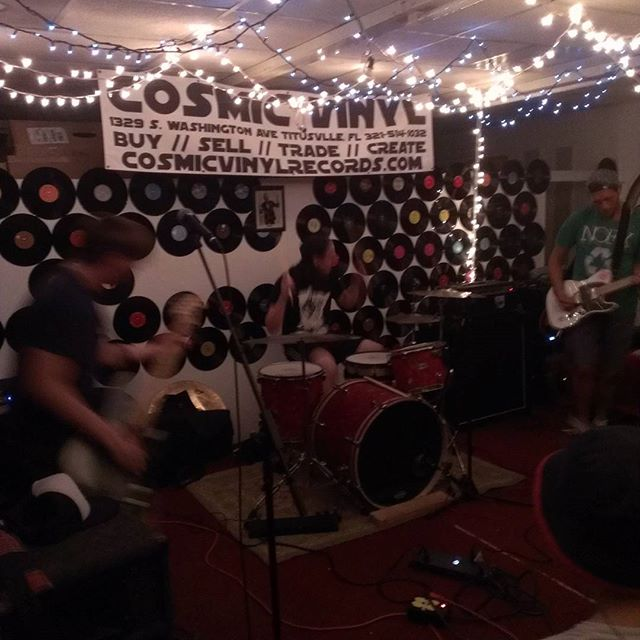 Pierre live at #cosmicvinyl #Brevard #Titusville #Florida #diyshow