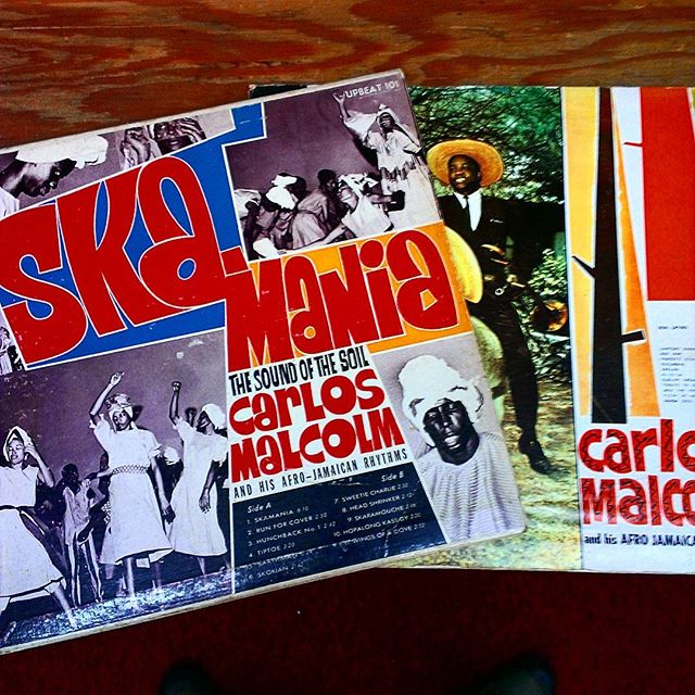 Two great Jamaican records came in.  #ska #Jamaica #vintage #imports #vinyl #records #Titusville
