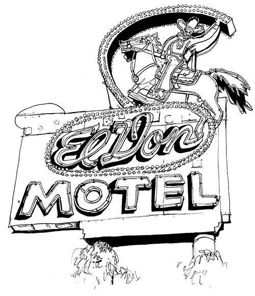 danny martins route 66 neon coloring book vol 2 new mexico to california - Coloring Book Com 2