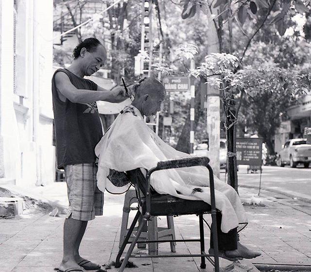 Street barber #35mm