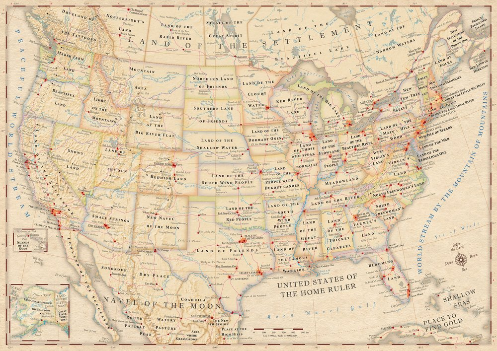 This Wonderful Map Shows What US States Names Really Mean BGC - Us state names map