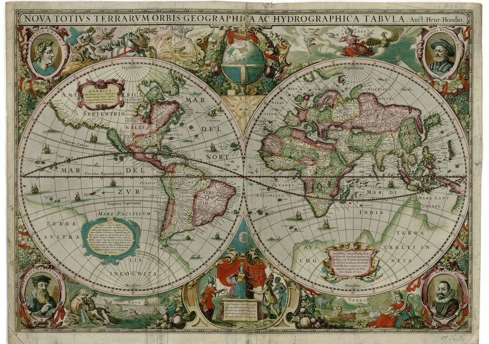 Maps show what world looked like in 1500s bgc mr darlingtons fascination with discovery and exploration led him to collect atlases and rare maps that document voyages to the new world starting in the gumiabroncs Gallery