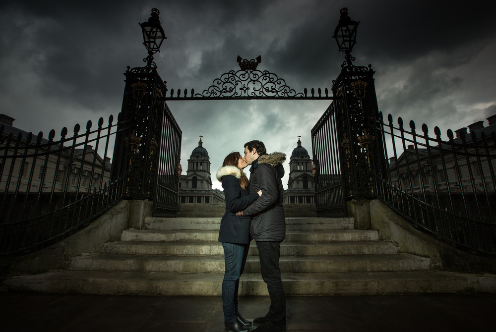 greenwich-royal-naval-academy-engagement-london-uk-destination-wedding-photography-Adam-Rowley