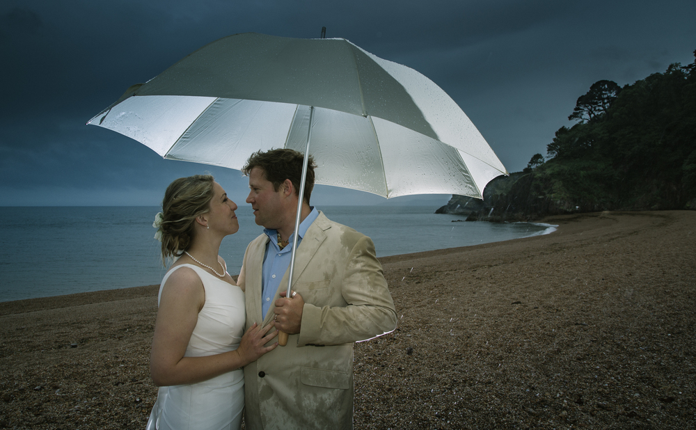 dartmouth wedding in the rain 1