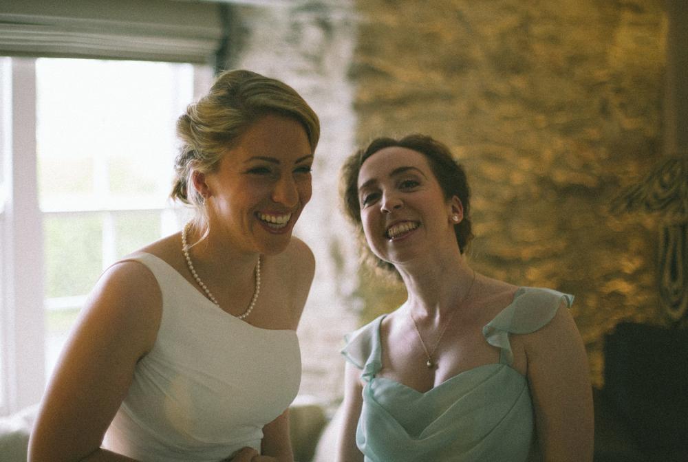 dartmouth bride and bridesmaid 4