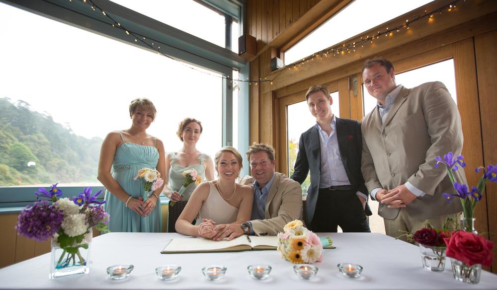 devon wedding signing the register 2