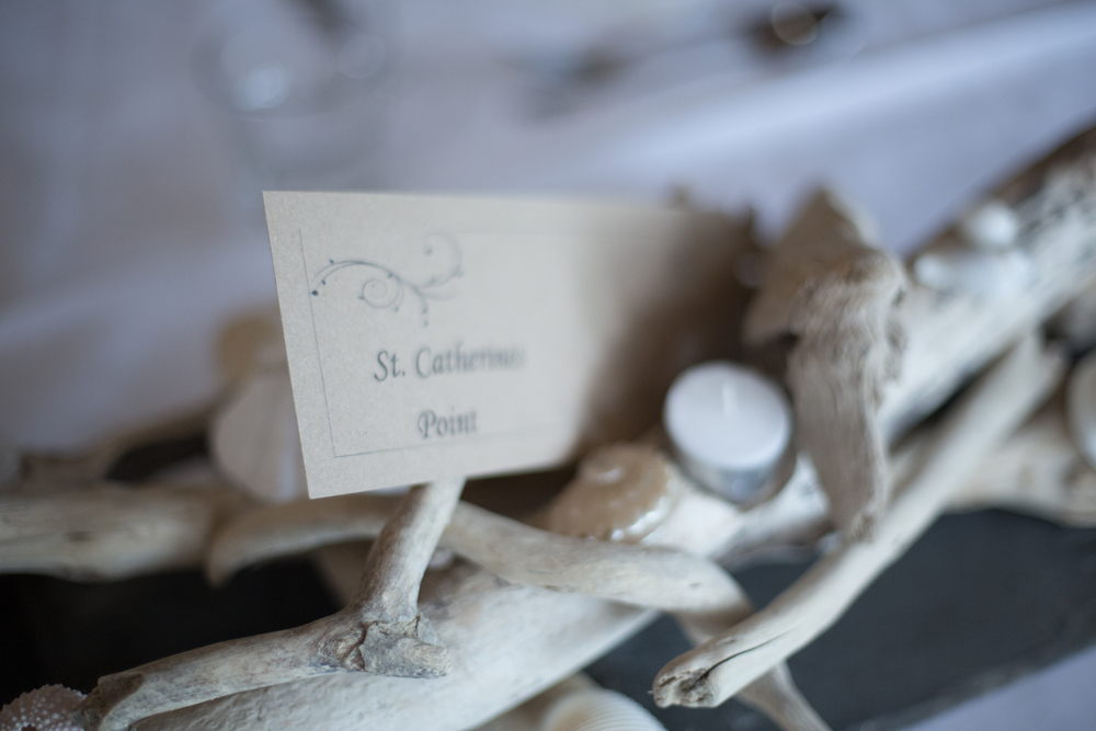 dartmouth wedding driftwood table ornament