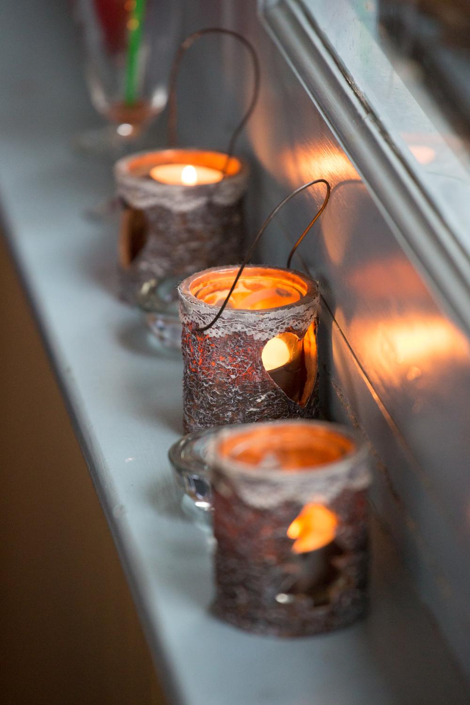 devon wedding candles