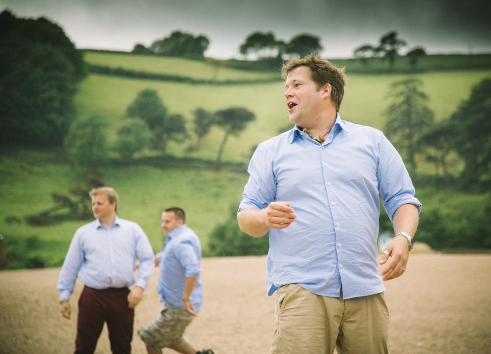 devon wedding beach games 1