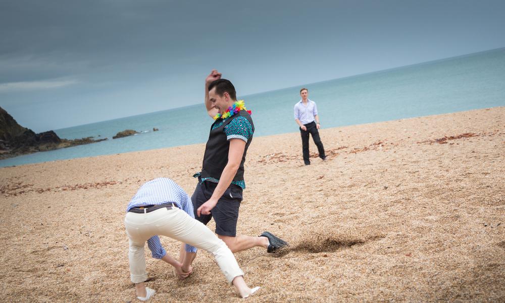 dartmouth wedding beach games rounders 1
