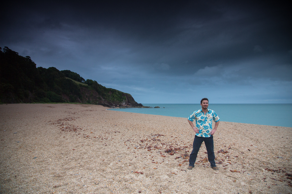 blackpool sands dartmouth beach wedding rounders
