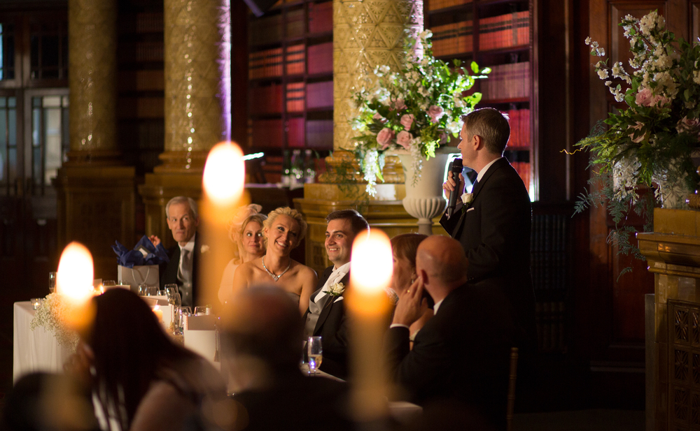 Wedding Speech at Wedding Reception