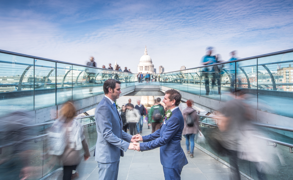 Same Sex Wedding Photography London