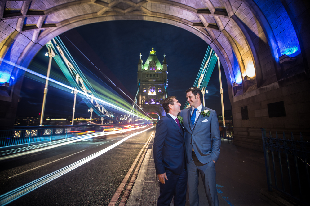 Tower Bridge wedding same sex marriage london 5