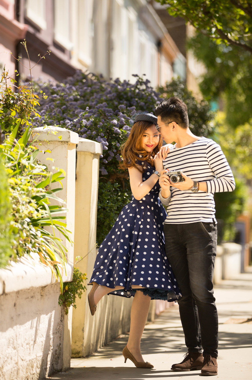 Asian-London-Vintage-Engagement-Wedding-Shoot-Notting-Hill-Regents-Park-4