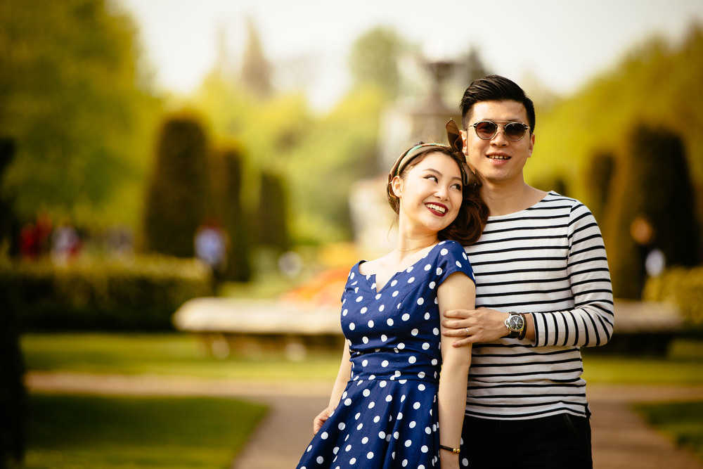Asian-London-Vintage-Engagement-Wedding-Shoot-Notting-Hill-Regents-Park-18