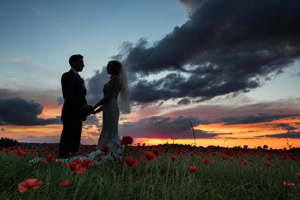 St-Mary's-church-Hitchin-herfordshire-wedding-sunset-3
