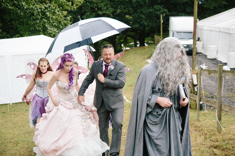 gandalf-ceremony-bride-essex-movie-theme-wedding-5
