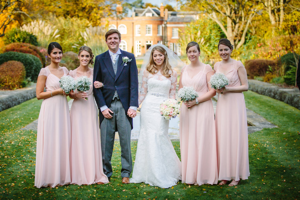 surrey-ascot-royal-berkshire-hotel-autumn-wedding-group-shot-bridesmaids-5