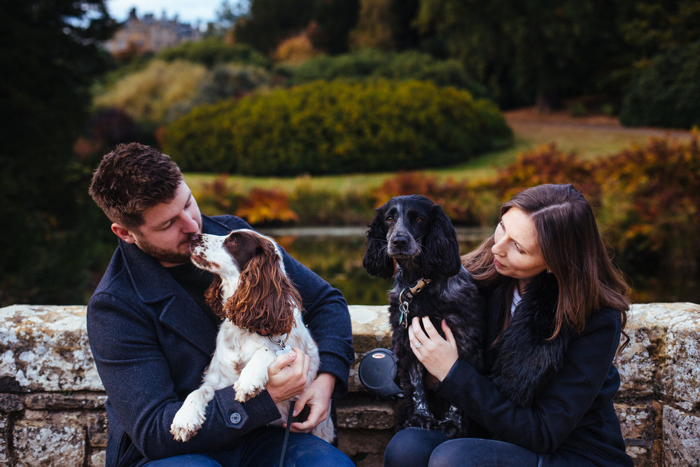 Scotney-Castle-Kent-London-Engagement-Wedding-Photography-dogs-4
