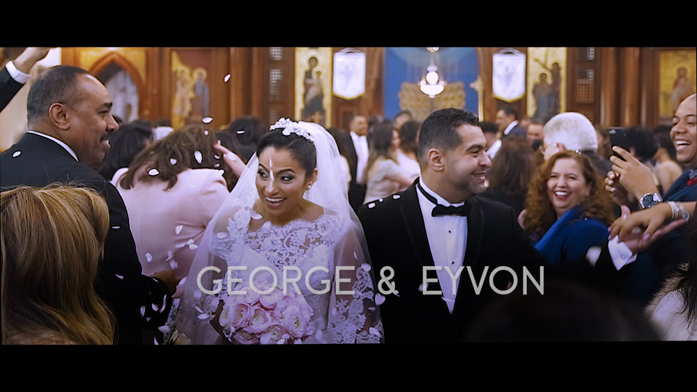GEORGE & EYVON'S LONDON COPTIC ORTHODOX WEDDING KENSINGTON