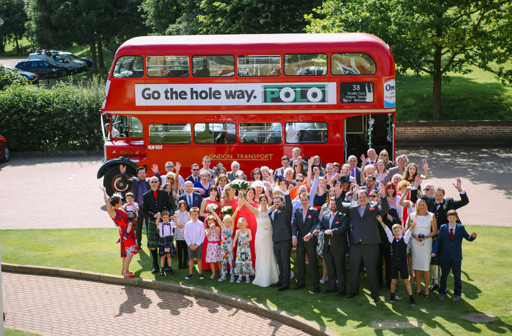 reigate-surrey-london-wedding-photography-group-formal-shot-everyone-routemaster-78
