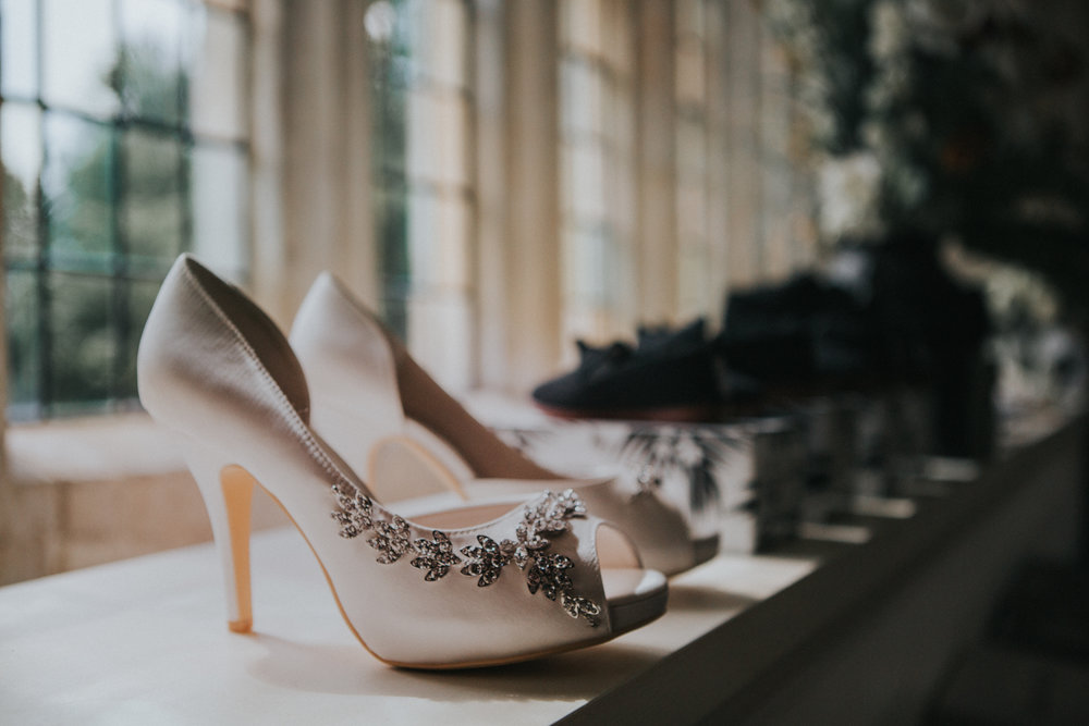 westenhangar-castle-kent-london-wedding-photography-bridal-prep-shoes-07