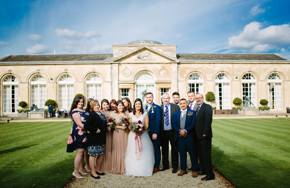 london-bedfordshire-uk-wedding-photography-woburn-sculpture-gallery-group-portrait-48