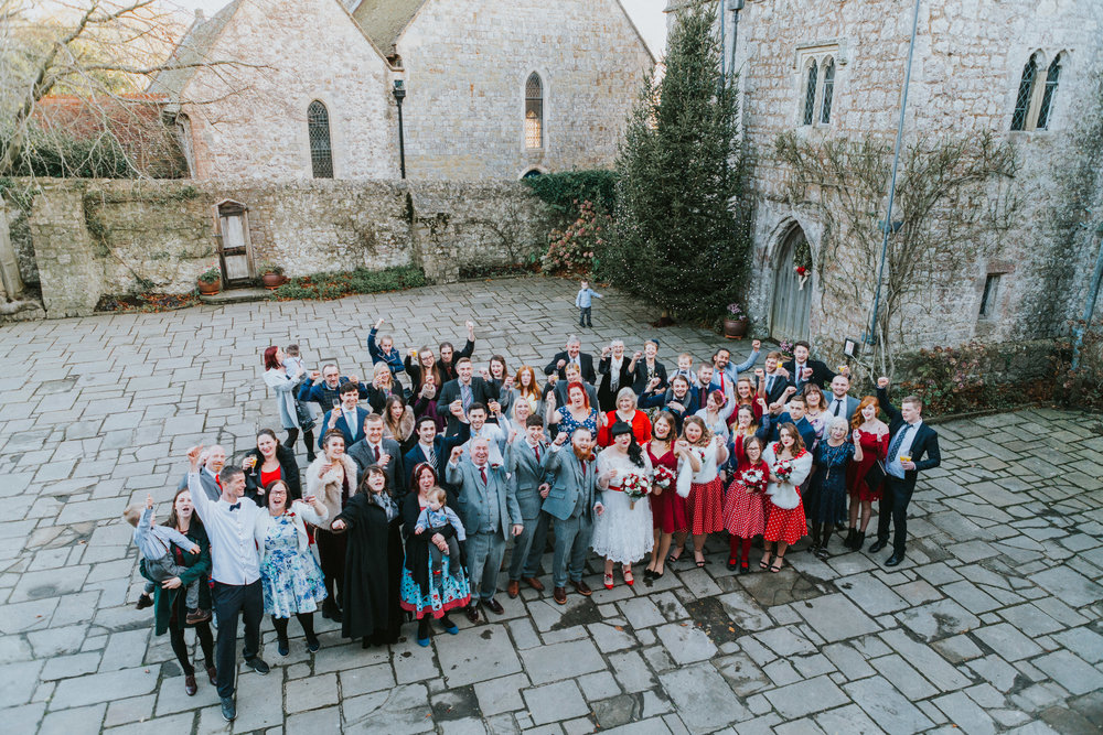 london-kent-wedding-photography-lympne-castle-large-group-portrait-66