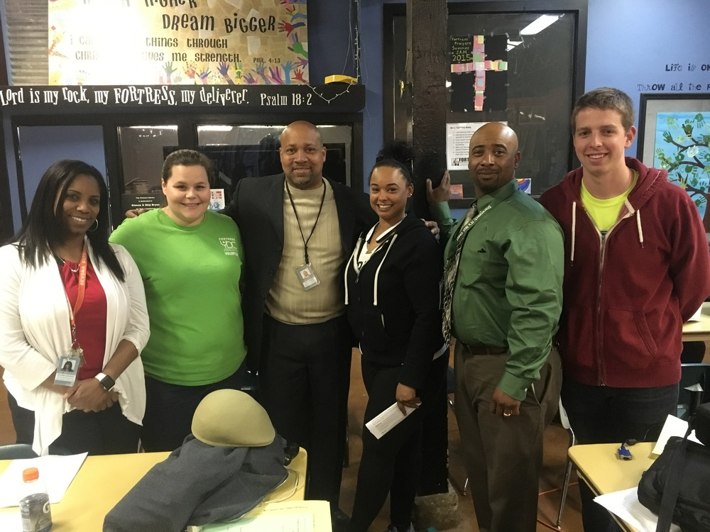 Ms. Burgess, Ms. Hannah, Mr. Besses, Ms. Aundrea, Mr. Lewis, and Mr. Ethan