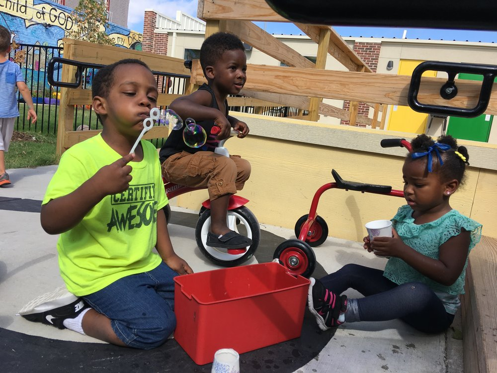 """""""Play is often talked about as if it were a relief from serious learning. But for children, play is serious learning. Play is really the work of childhood."""" -  Mr. Rogers"""