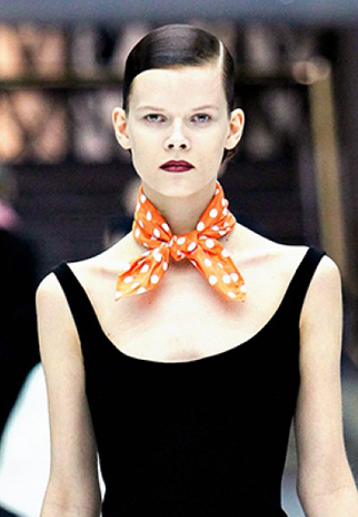 Square scarf knots - The Neckerchief